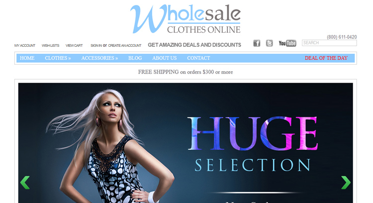 Wholesale Clothing For Woman
